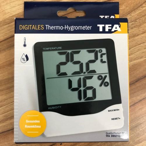 Foto Produk Thermohygrometer , Thermo Hygrometer , TFA Thermohygro Digital dari Globalinst Shop