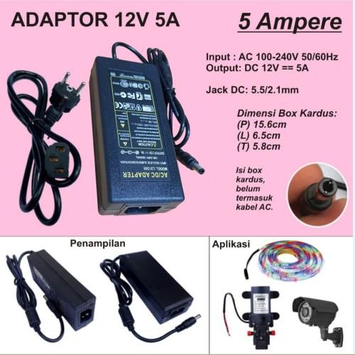 Foto Produk Adaptor 5A 12V dari Toko Mitra Abadi