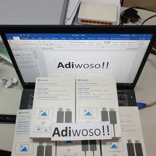 Foto Produk Microsoft Wireless Display Adapter WIFI BARU BNIB SEGEL dari Adiwoso