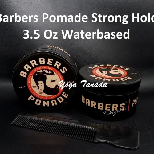 Foto Produk Barbers Pomade Strong Hold Waterbased 100 Gram (FREE SISIR SAKU) dari Yoga Tanada