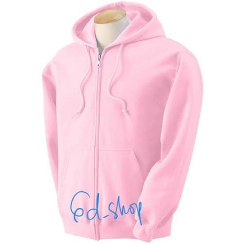 Foto Produk Jaket Hoodie Zipper Man - Baby Pink (Size XL) dari GD.SHOP