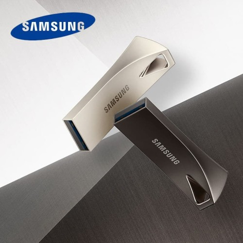 Foto Produk SAMSUNG USB Flash Drive Disk USB 3.0 Metal Mini Pen Drive 128GB-Black dari New era digital electron
