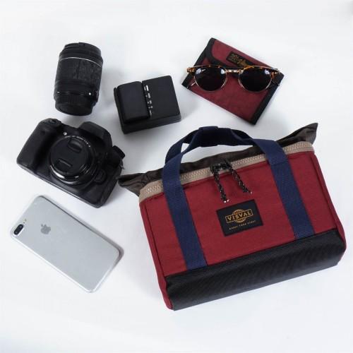 Foto Produk VISVAL - Tas Kamera - Trove - Merah Marun dari VISVAL