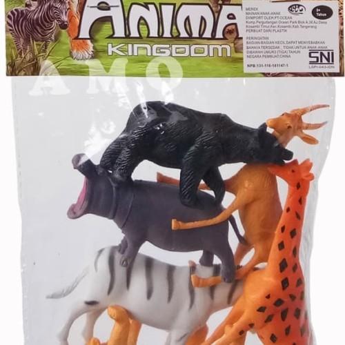 Foto Produk ANIMAL KINGDOM KANTONG 2004 - FIGURE ANIMAL MAINAN MURAH dari ANEKA MAINAN ONLINE
