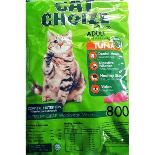 Foto Produk 800gram Cat Choize Tuna Adult - Makanan Kucing Kering Dewasa Dry Food dari Memang Pet Shop