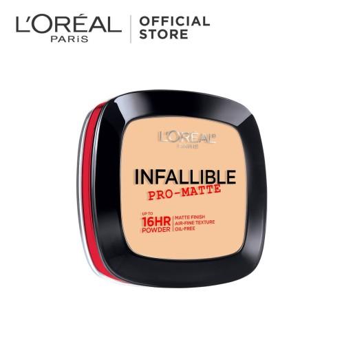 Foto Produk L'Oreal Powder Infallible Pro-Matte 300 Nude Beige dari L'oreal Paris