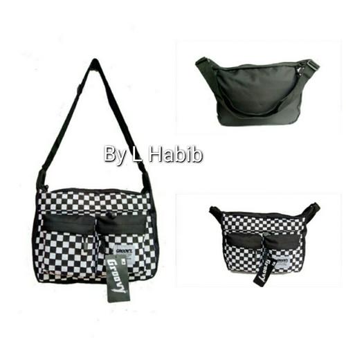 Foto Produk tas selempang slingbag sling bag catur sk2 groovy dari L Habib