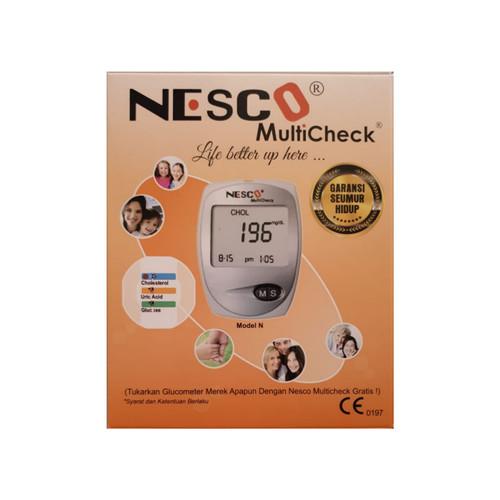 Foto Produk Nesco Multicheck 3in1 ( Kolesterol, Asam Urat, Gula Darah) dari Tanglin