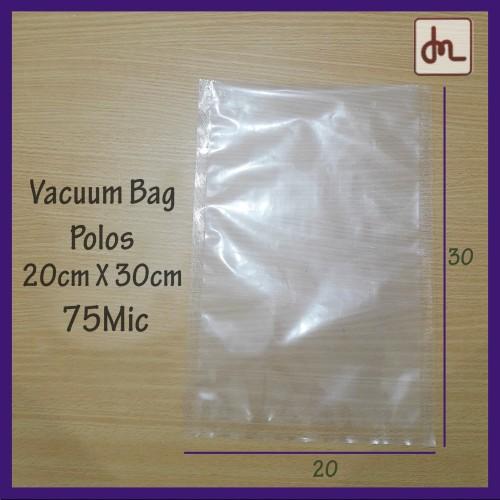Foto Produk Vacuum Bag 20X30 75Micron / plastik vakum / plastik makanan termurah dari DML Dwipa Megah Lestari