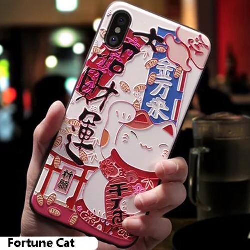 Foto Produk Casing 3D Kucing Jepang Softcase iPhone 6 6S 7 8 Plus X XR XS Max - 6 atau 6S dari iShop Here