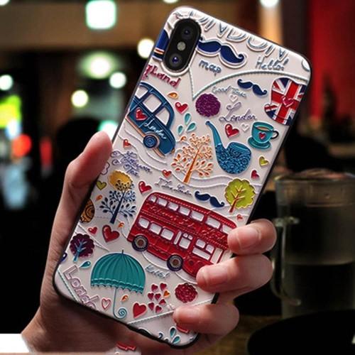 Foto Produk Casing 3D London Inggris Softcase iPhone 6 6S 7 8 Plus X XR XS Max - 7 atau 8 dari iShop Here