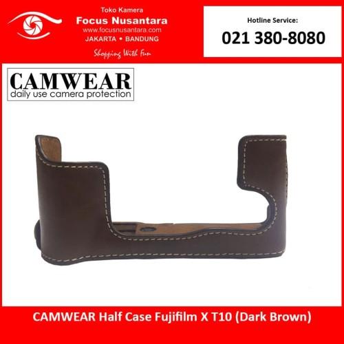 Foto Produk CAMWEAR Half Case Fujifilm X T10 (Dark Brown) dari Focus Nusantara