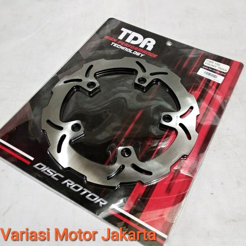 Foto Produk Disk piringan cakram depan cbr 150 lokal/all new cb150r TDR dari Variasi Motor Jakarta