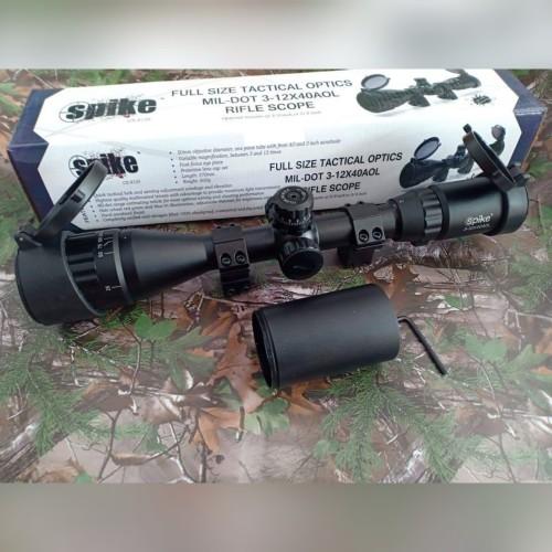 Foto Produk TELESCOPE SPIKE LT 3-12X40 AOEL dari Chalil Sport Hunting