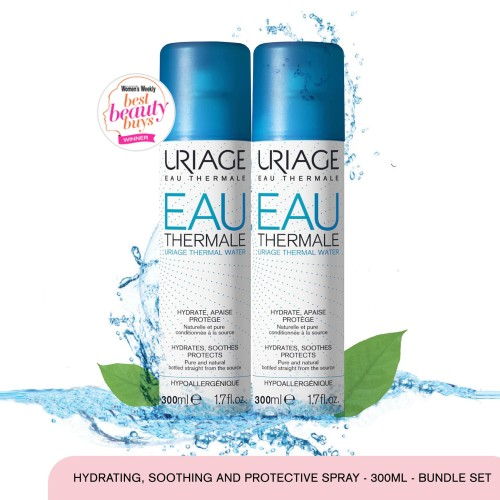 Foto Produk Uriage Double Thermal Water Spray 300ml dari Uriage Official Store