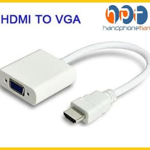 Foto Produk #DB008 KABEL CONVERTER HDMI TO VGA / HDMI TO VGA CONVERTER dari HandphoneTiam