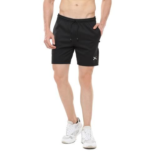 Foto Produk FLEXZONE Celana Pendek - Black - for Gym Running Jogging FCS-001HT - S dari FLEXZONE