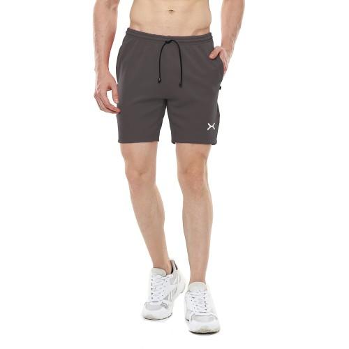 Foto Produk FLEXZONE Celana Pendek - Abu Glp - for Gym Running Jogging FCS-001AG - M dari FLEXZONE