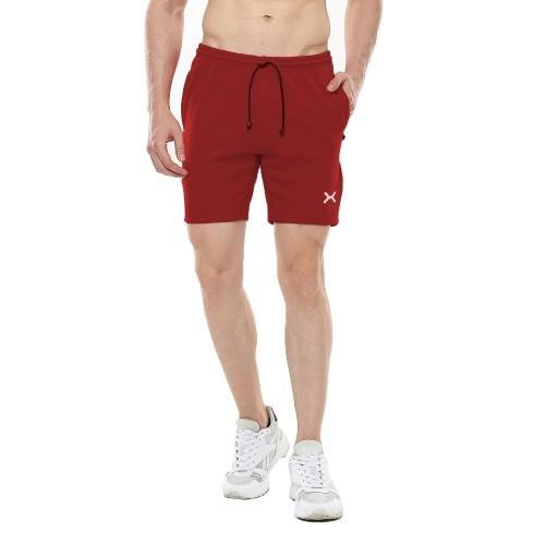 Foto Produk FLEXZONE Celana Pendek - Maroon - for Gym Running Jogging FCS-001MG - S dari FLEXZONE