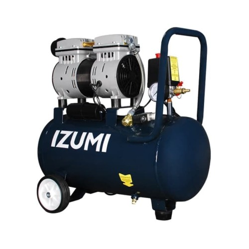 Foto Produk IZUMI 24 L Kompresor Angin SILENT 3/4 HP 24 Liter Oilless lakoni dari Indah Jaya Tools