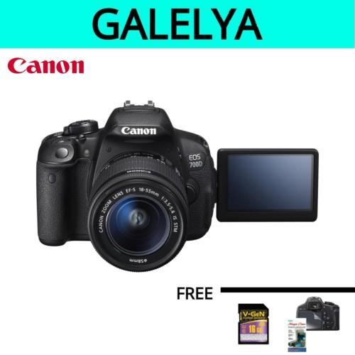Foto Produk KAMERA CANON 700D kit 18-55mm IS STM / CANON 700D / EOS 700D / 700D dari galelya