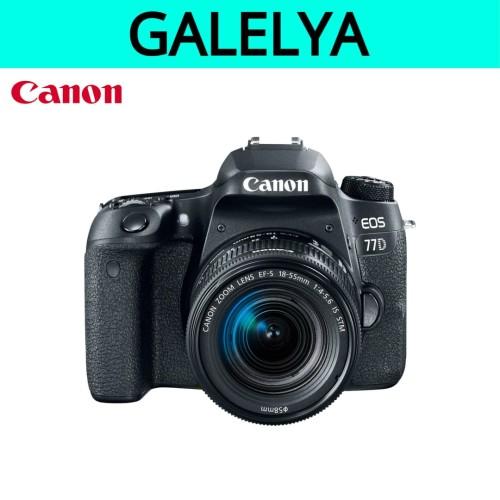 Foto Produk Kamera Canon Eos 77D kit 18-55 STM / Canon Eos 77D dari galelya