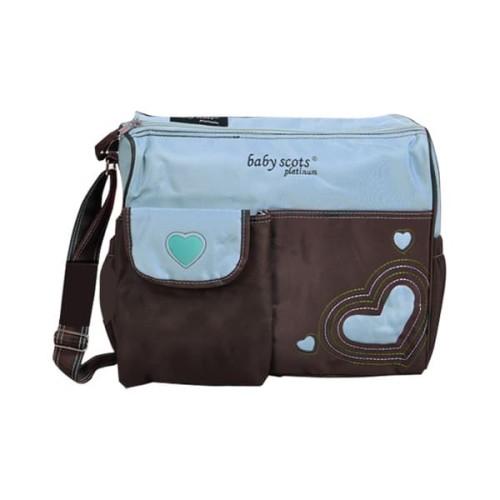 Foto Produk BABY SCOTS MOMMY BAG MB003 - BIRU dari Baby Scots