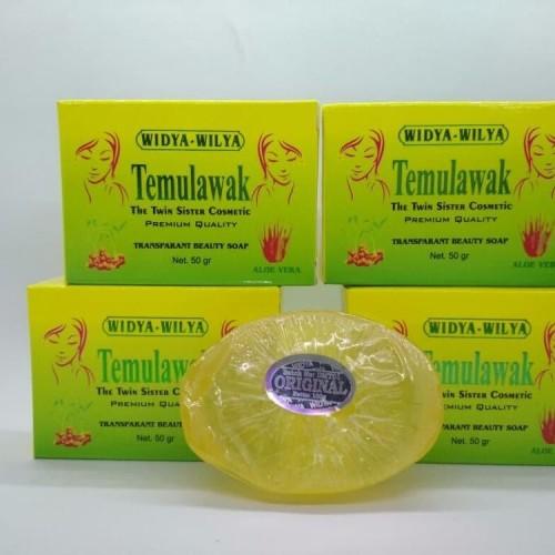 Foto Produk ANEKA AKSESORIS ALL NEW Sabun Temulawak Whitening Soap BPOM dari tarywd
