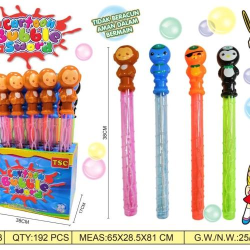 Foto Produk Mainan Bubble / Bubble Sabun STICK / Gelembung Tiup Balon Karakter dari EAZYTOYS