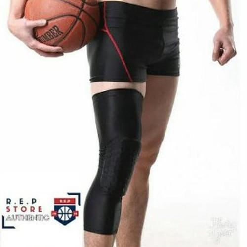 Foto Produk TERMURAH Leg Sleeve legsleeve Knee pad Kneepad basketball Pad spo dari rizalsetya
