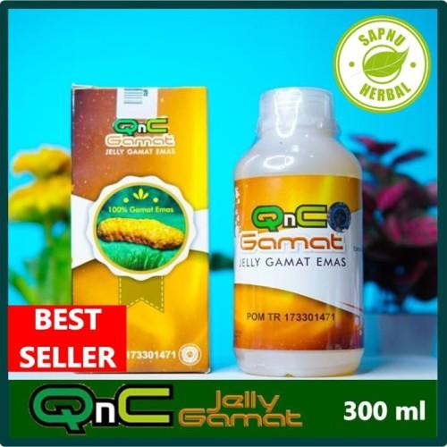 Foto Produk Obat Gusi Bengkak - Gusi Berdarah - Radang Gusi - QnC Jelly Gamat dari AGEN OBAT HERBAL WALATRA