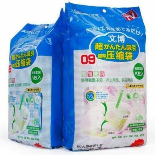 Foto Produk Vacum Bag Isi 8 + Free Pompa (3+3+2) dari terangjaya88