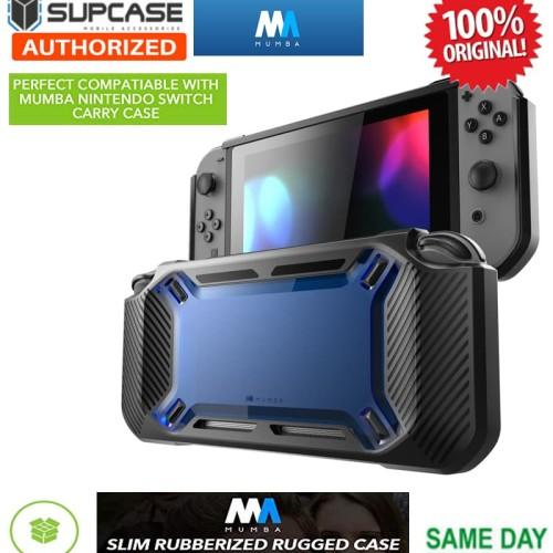 Foto Produk Nintendo Switch Case Mumba SlimFit Rugged Protective - Blue dari Spigen Indonesia
