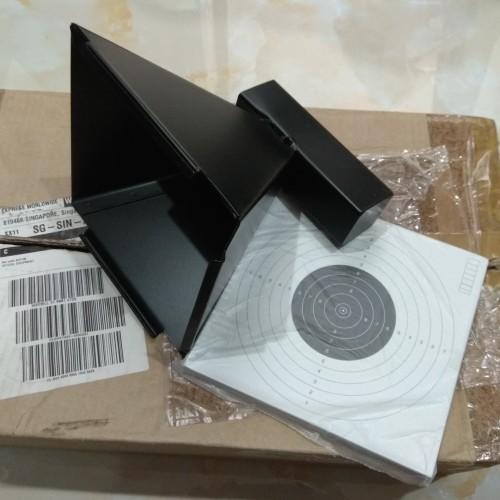 Foto Produk BOX TARGET HOLDER PELLET TRAP KOTAK SASARAN TEMBAK + KERTAS TARGET dari DO OFFICIAL STORE