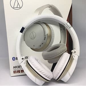 Foto Produk Audio Technica ATH-AR3BT Wireless On Ear Headphones - White dari Martialmerchant