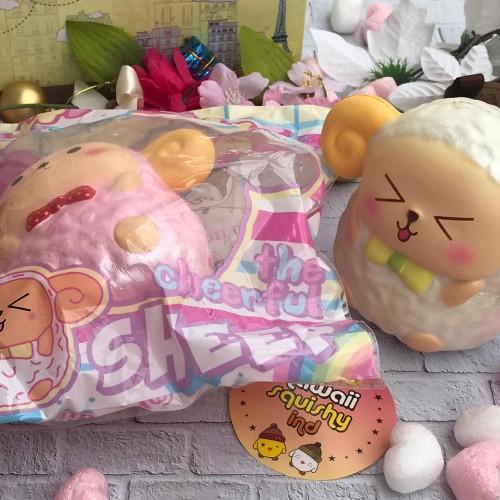 Foto Produk KawaiiSquishy.IND Shishi The Sheep Squishy dari KawaiiCatalog