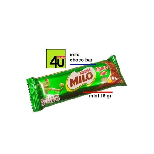 Foto Produk Milo - Choco Bar - MINI 15 Gr dari cemilan4u