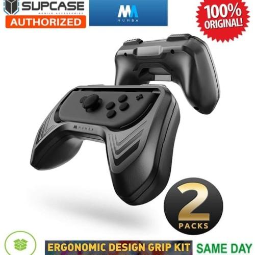 Foto Produk Nintendo Switch Case Mumba Joy Con Handle Grip Kit Holder 2 Pack dari TwinF Shop