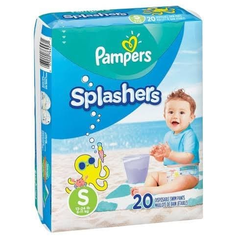Foto Produk Pampers Splashers Swim Diaper Popok Renang Size 3-4 - S dari Baby Ananta