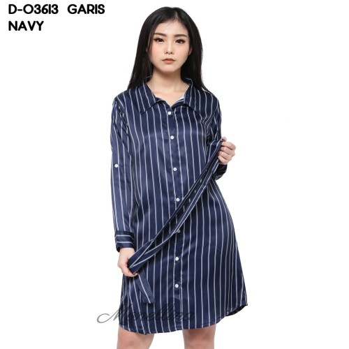 Foto Produk Baju Tunik Atasan Wanita Muslim Kekinian D-03613 Garis dari Stayl Store