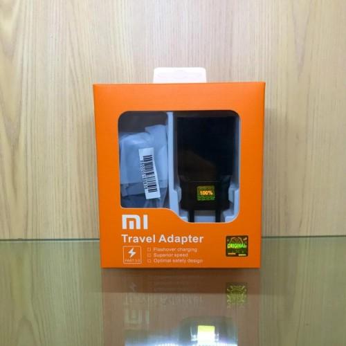 Foto Produk Charger Casan Xiaomi Redmi 6 6A Redmi Note5 5A 4 4x MDY 08Ei Micro ORI dari ceria acc