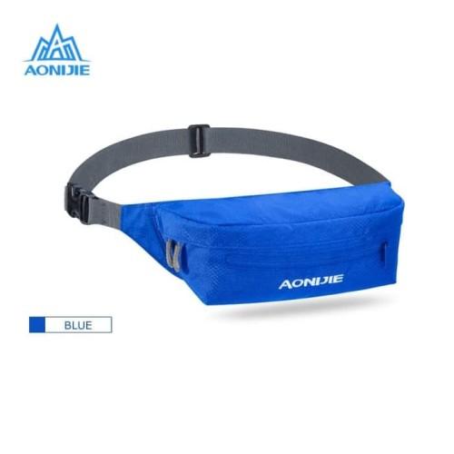 Foto Produk Aonijie Waist Bag W931 - Tas Pinggang Lari Sepeda Gym Outdoor - BLUE dari PACE AND RACE MEDAN