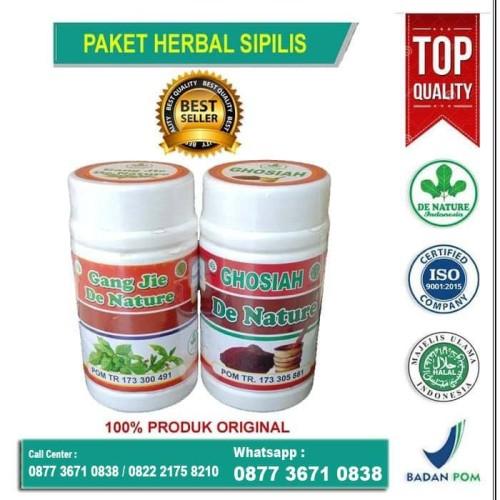 Foto Produk Obat Sipilis Kencing Nanah Isk Gonore Penyakit Kemaluan dari Fanani Herbal