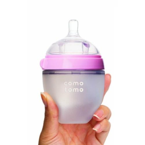 Foto Produk Comotomo Soft Hygienic Silicone Baby Bottle 150ml with Slow Flow dari babyzania-id