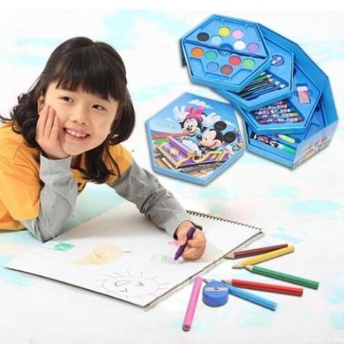 Foto Produk Peralatan Menggambar Anak 1 set murah / drawing set anak dari TOKO BERLIAN