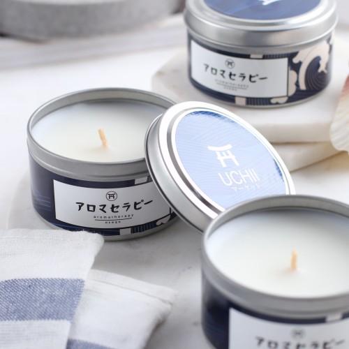 Foto Produk UCHII Aroma Therapy Decorative Canned Candle   Lilin Wangi Blue Ocean dari uchii store