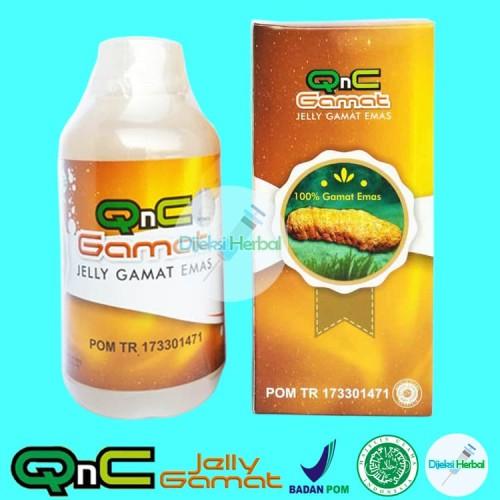 Foto Produk Asli Obat Fistula Ani Herbal QNC Jelly Gamat dari Dijeksi Herbal