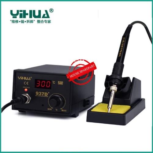 Foto Produk Promo YIHUA 937D+ Soldering Station 110V 220V Digital Thermostat dari HOUSE SPAREPART