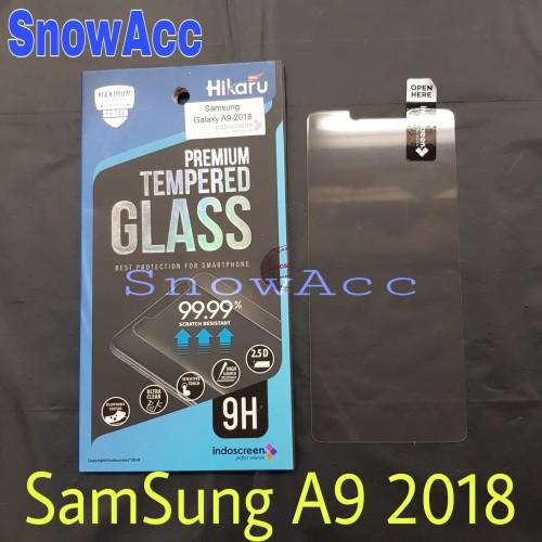 Foto Produk Hikaru Anti Gores Tempered Glass Samsung Galaxy A9 2018 dari SnowAcc