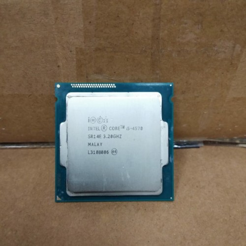 Foto Produk Intel Core I5 4570 3.2GHz 6MB Socket LGA 1150 dari Oke's